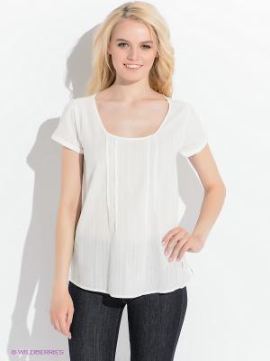 Блузка LEE. Цвет: белый