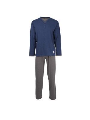 Пижама CECEBA. Цвет: темно-синий