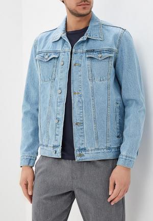 Куртка джинсовая DC Shoes. Цвет: голубой
