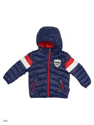 Куртка BOOM. Цвет: темно-синий, красный, белый