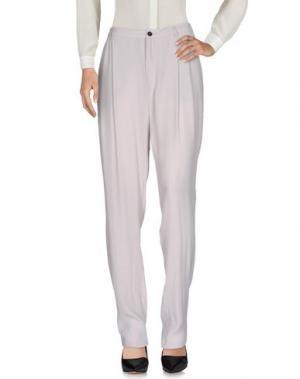 Повседневные брюки DAGMAR. Цвет: светло-серый