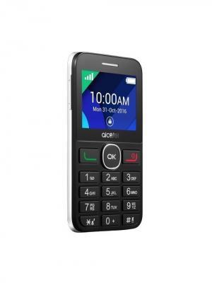 Мобильный телефон Alcatel OneTouch 2008G Black/White. Цвет: серый, белый