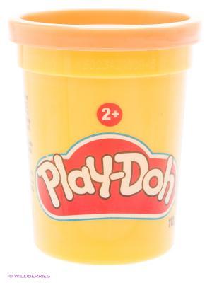 Баночка пластилина Play-Doh Hasbro. Цвет: оранжевый