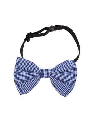 Бабочка Button Blue. Цвет: темно-синий