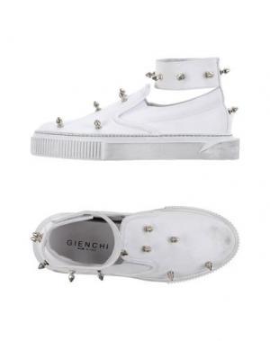 Высокие кеды и кроссовки GIENCHI. Цвет: белый