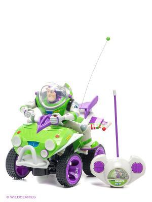 Р/у квадроцикл TOY STORY с Базз Лайтером IMC toys. Цвет: салатовый
