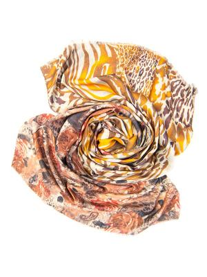 Платок женский, размер 185x70 см Charmante. Цвет: бежевый