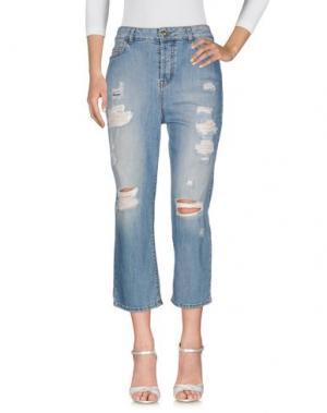 Джинсовые брюки TOY G.. Цвет: синий