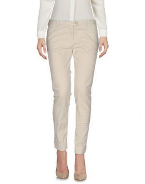 Повседневные брюки ALPHA STUDIO. Цвет: бежевый