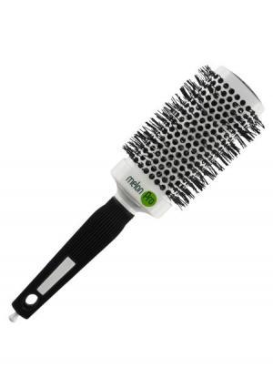Термобрашинг квадратный для укадки волос melon Pro. Цвет: белый