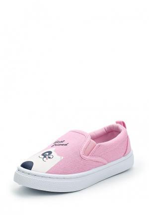 Слипоны Modis. Цвет: розовый