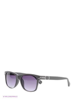 Солнцезащитные очки Opposit. Цвет: серый