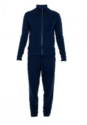 Спортивный костюм PHILIPP PLEIN. Цвет: синий
