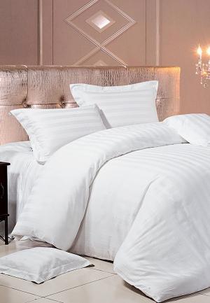 Комплект постельного белья Bellehome. Цвет: белый