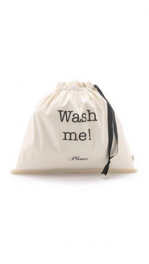 Большая сумка-органайзер с надписью «Wash Me Please» Bag-all
