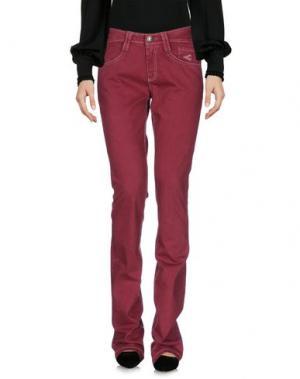 Повседневные брюки CARLO CHIONNA. Цвет: пурпурный
