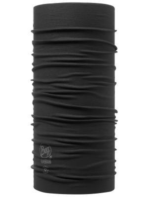 Бандана BUFF HIGH UV PROTECTION BUFFWITH INSECT SHIELD BLACK. Цвет: черный
