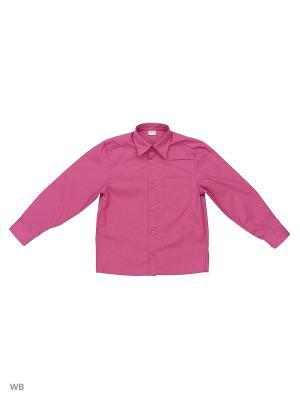 Сорочка школьная Аэлита. Цвет: розовый