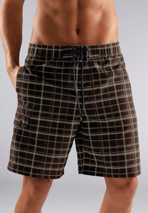 Пляжные шорты, s.Oliver, длинные, s.Oliver Otto. Цвет: коричневый