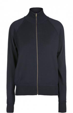 Спортивная куртка на молнии Chloé. Цвет: темно-синий