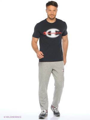Спортивные брюки CHAMPION. Цвет: светло-серый