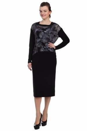 Длинное платье Joseph Ribkoff. Цвет: серый