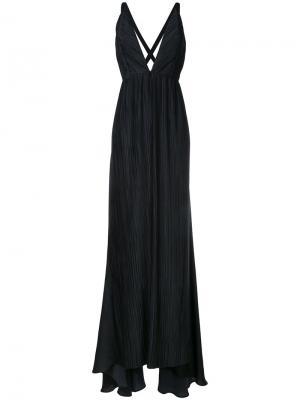 Платье Canis Haider Ackermann. Цвет: чёрный
