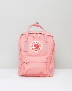 Fjallraven Маленький розовый рюкзак Kanken. Цвет: розовый