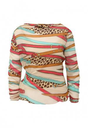 Блуза D.VA. Цвет: разноцветный