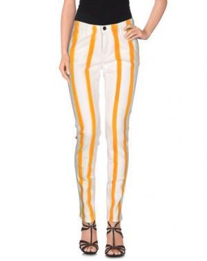 Джинсовые брюки PENCE. Цвет: оранжевый