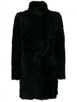 Двухстороннее пальто Drome. Цвет: чёрный