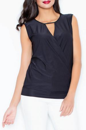 Блуза Figl. Цвет: черный