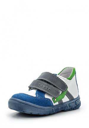 Ботинки Totta. Цвет: белый