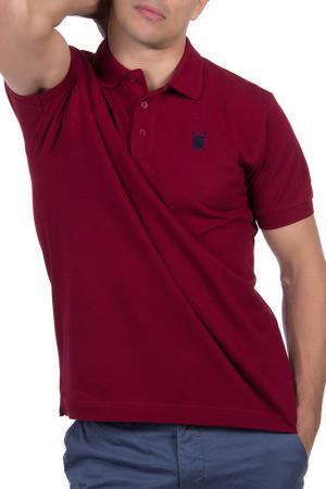 Рубашка-поло POLO CLUB С.H.A.. Цвет: bordeaux
