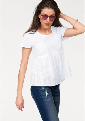Блузка Aniston. Цвет: белый