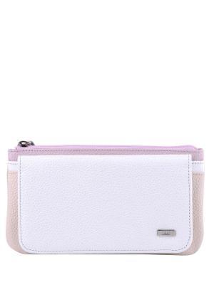 Кошелек Esse. Цвет: молочный, белый, розовый