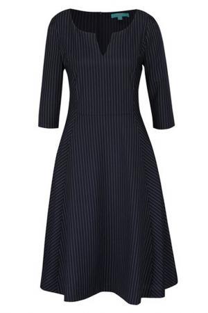 Платье FEVER LONDON. Цвет: синий