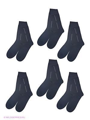 Носки, 6 пар Charmante. Цвет: черный