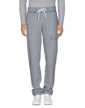 Повседневные брюки FUTUR. Цвет: серый