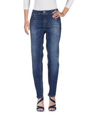 Джинсовые брюки SWEET LOLA. Цвет: синий