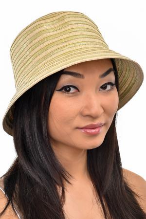 Шляпа Tonak. Цвет: бежевый, золотой