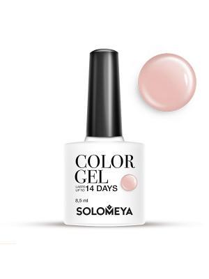 Гель-лак Color Gel Тон Latte SCG050/Латте SOLOMEYA. Цвет: бежевый
