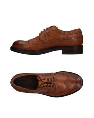 Обувь на шнурках CORVARI. Цвет: коричневый