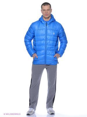 Куртка BURRAN. Цвет: голубой
