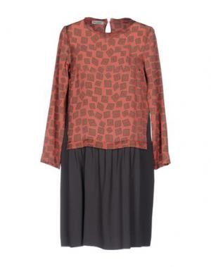 Короткое платье ROSSO35. Цвет: пастельно-розовый