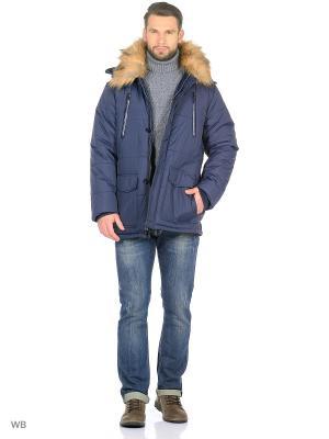 Мужская куртка LTB. Цвет: синий