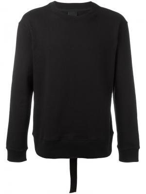 Back tape sweatshirt D.Gnak. Цвет: чёрный