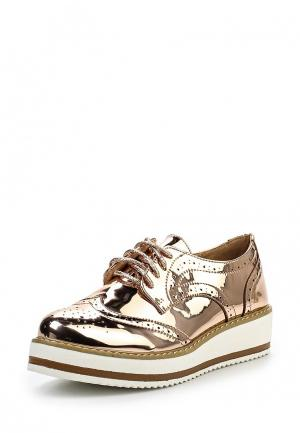 Ботинки Flyfor. Цвет: золотой