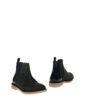 Полусапоги и высокие ботинки STEPHANE KÉLIAN. Цвет: темно-зеленый