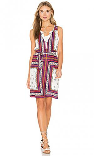 Платье-рубашка craft Sanctuary. Цвет: белый
